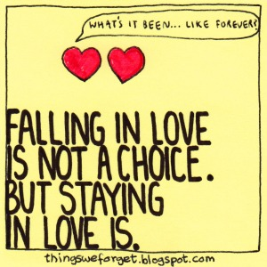 Love is a choice