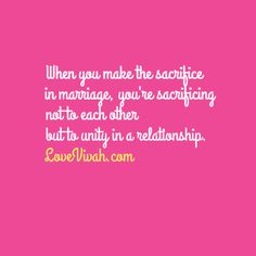 sacrificetorelationship