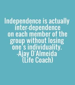 interdependance