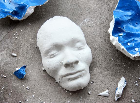 broken mask